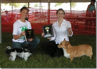 Res Dog Showman-Amber Tolly & Gr Dog Showman- Baily Gullickson