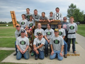 2014 Yankton 4H Shooting Sports Team and Coaches