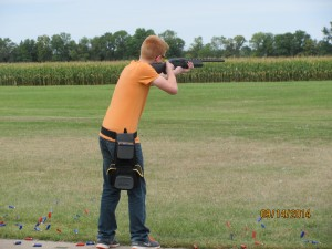 Garet shooting Sept. 2014