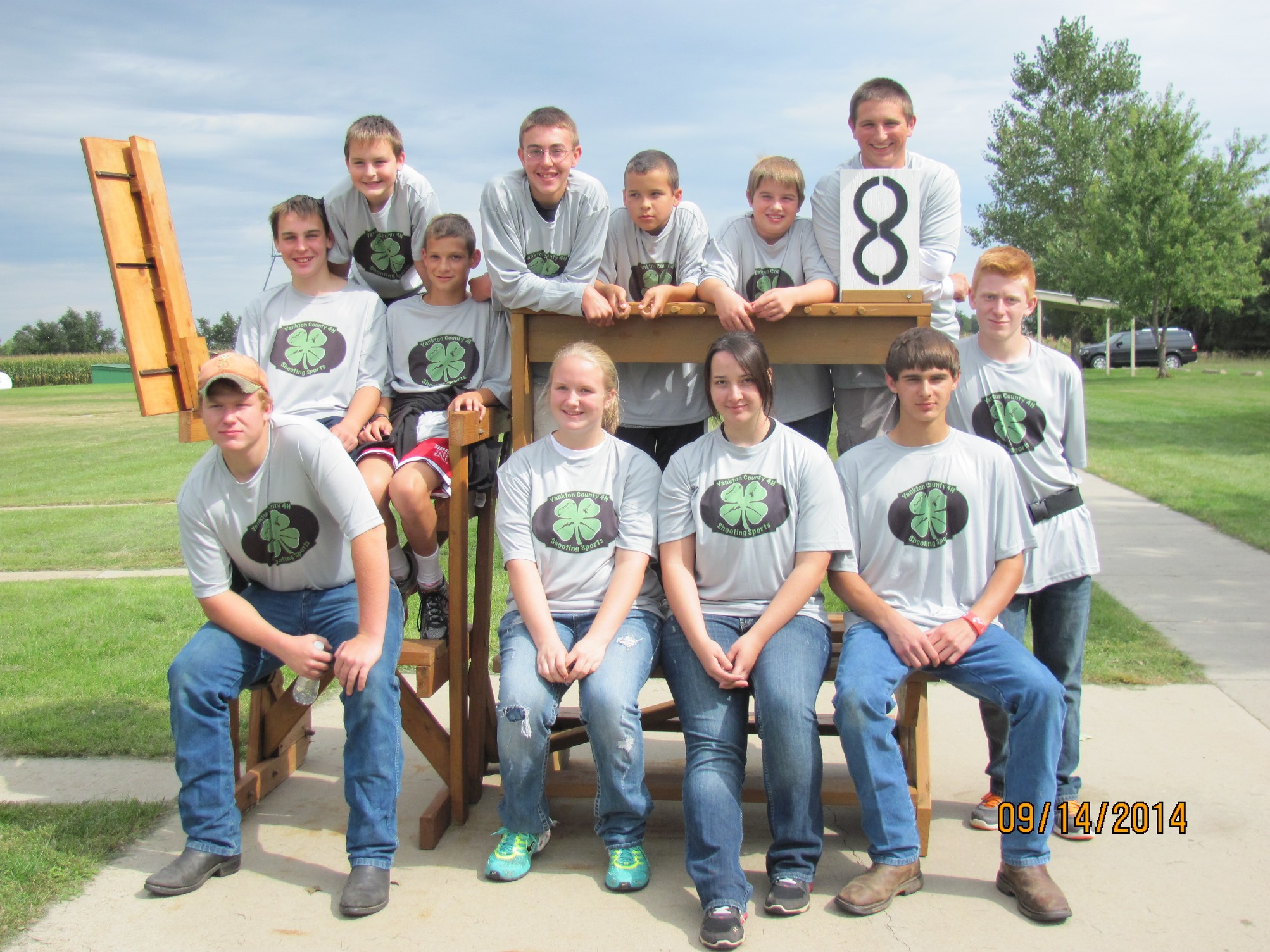 2014 Yankton 4H Shooting Sports Team